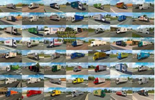 Painted BDF Traffic Pack by Jazzycat v4.7