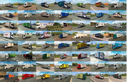 Painted BDF Traffic Pack by Jazzycat v4.9