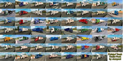 Painted Truck Traffic Pack by Jazzycat v7.1