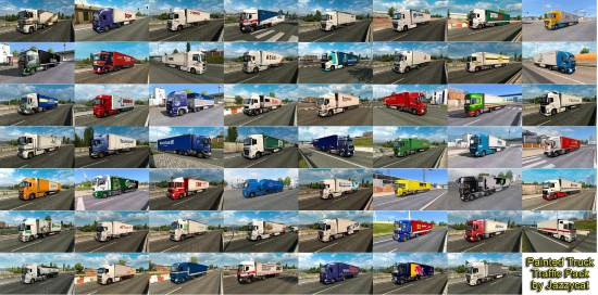 Painted Truck Traffic Pack by Jazzycat v7.2