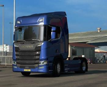 Retarder Scania R & S Stock Sound 1.34