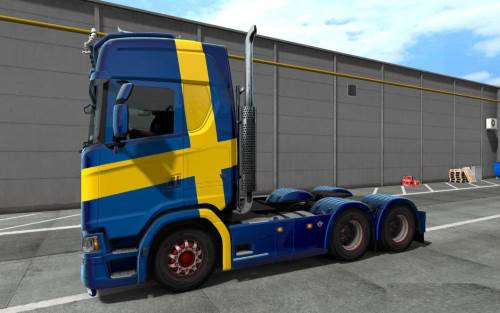 Scania Cabin without Fairing