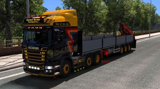 Scania Gerben Buiter Transport skin 1.33