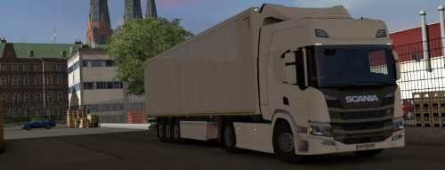 Scania NGS P Cab (add-on for R chassis)