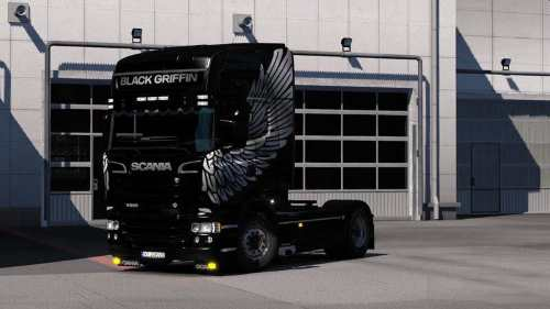 Scania RJL Black Grifiin Edition 1.33