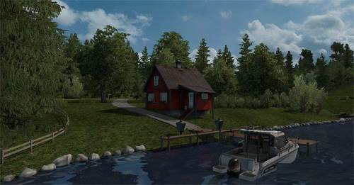 Simple Lakeside House – Kristiansand NO