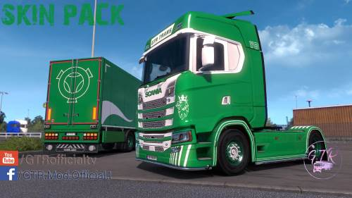 Skin Pack for Scania S Next Gen & Standard Trailers
