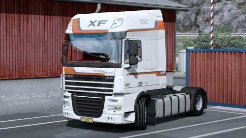 Skin SPECIAL EDITION for DAF XF 105 by vad&k