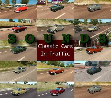 Sounds for Classic Cars Pack by TrafficManiac v2.4