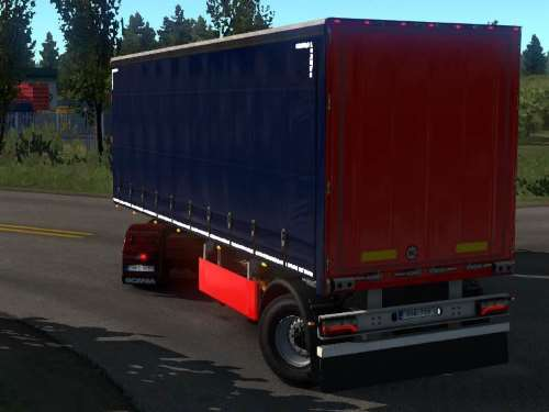 Steerable Axle for Short Single Axle Curtain Trailer 1.34