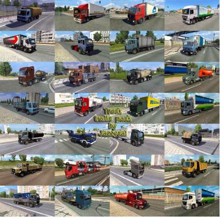 Truck Traffic Pack by Jazzycat v3.3
