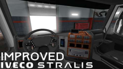 ETS2 Improved IVECO Stralis v1.2 Fix 1.34