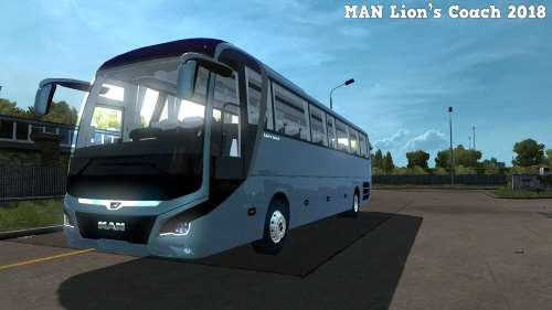 Man Lion's Coach 2018 Euro6 + Speed Limit 100km h