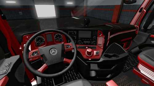 Mercedes MP4 Red Black LUX Interior 1.34