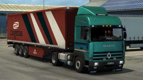 Renault Major ETS2 fixed 1.34