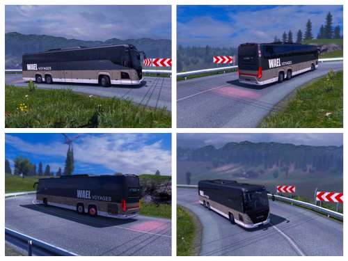 Scania Bus Touring – Wael Voyages – ETS2 1.34