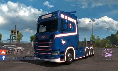 Skin Pero for Scania S Next Gen v1.0