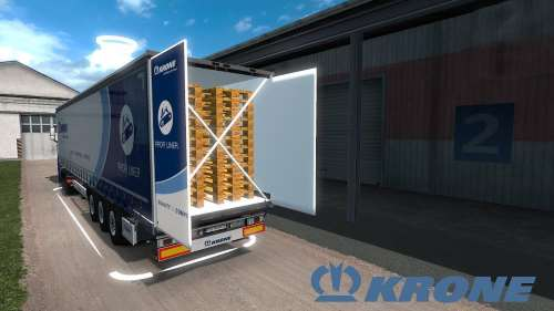 Krone Megaliner with Swing door 1.34