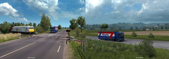 ETS2 1.35 New Roads