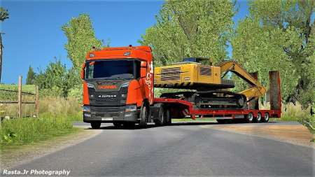 Scania NextGen V8 Open Pipe Sound