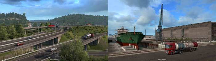 ETS2 Bulgaria Road to black sea dlc