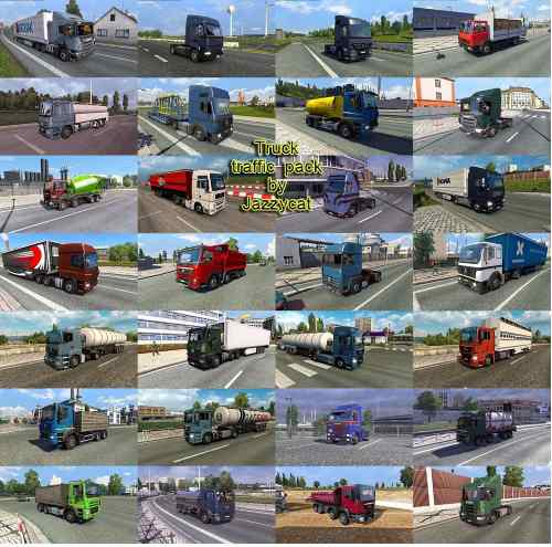 Truck Traffic Pack by Jazzycat v3.5.1