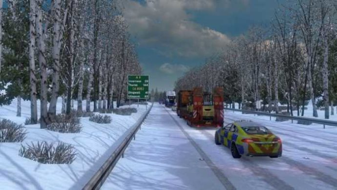 Frosty Winter Weather Mod v7.3 (1.36)