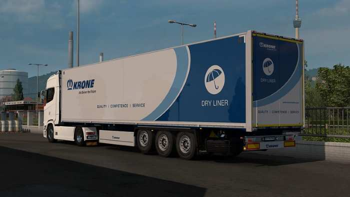 ETS2 Doors for Krone DryLiner