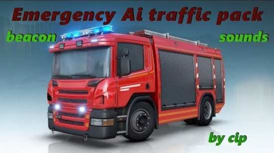 ETS2 1.36 Real AI Emergency pack v2.1