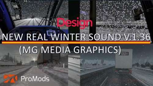 ETS2 New Real Winter Sound Mod patch 1.36