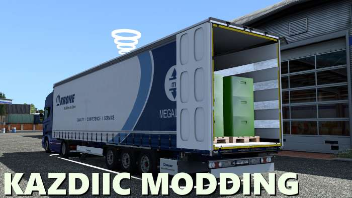 Krone MegaLiner Edit Open ets2